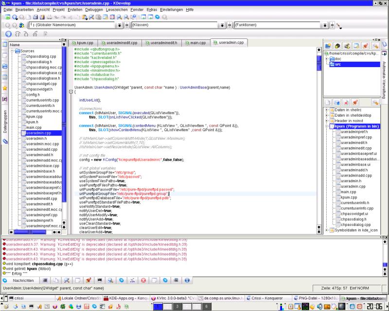 Bildschirmfoto von gideon 24 september 2003